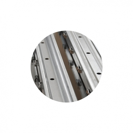 Sloupek k lesnickému pletivu 50x30x1,3 mm, výška 210 cm