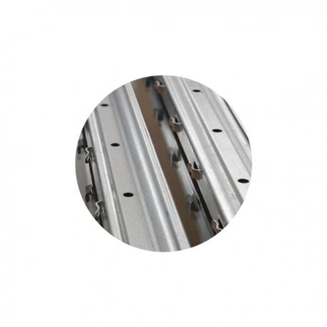 Sloupek k lesnickému pletivu 50x30x1,3 mm, výška 230 cm