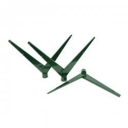 """Bavolet """"Y"""" Al+PVC na kulatý sloupek 48 mm"""