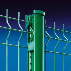 Sloupek poplastovaný k plotovým panelům, výška 100 cm
