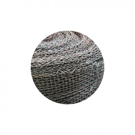 Kovová tkanina bez povrchové úpravy Fe, oko 8x8 mm