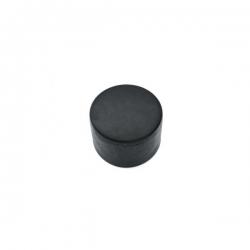 Čepička PVC černá, na kulatý sloupek 60 mm
