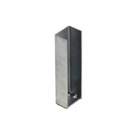 Držák podhrabové desky, koncový, 30 cm, Zn