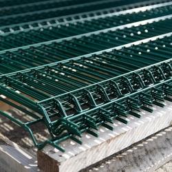 Plotový panel 3D 1230x2500 mm, poplastovaný, 2 profily, 5 mm
