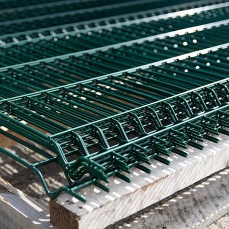 Plotový panel 3D 2160x2500 mm, poplastovaný, 4 profily, 5 mm