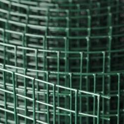 Svařované čtyřhranné poplastované pletivo 13x13, průměr drátu 1,2 mm