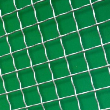 Žebírková tkanina bez povrchové úpravy, oko 40x40 mm, drát 2,5 mm