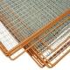 Plotový rám se žebírkovým výpletem 1000x2000 mm, oko 30x30 mm