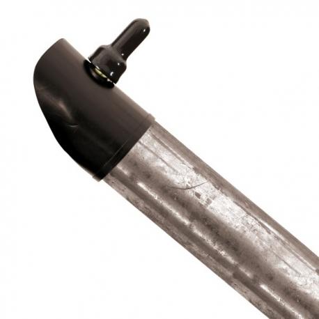 Boční vzpěra pozinkovaná 38 mm, výška 230 cm