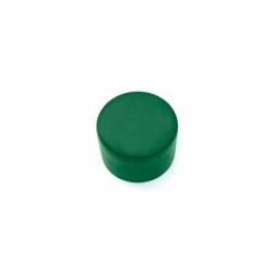 Čepička PVC zelená, na kulatý sloupek 38 mm
