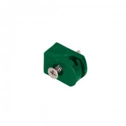 Příchytka šroubovací na napínací drát, zelená