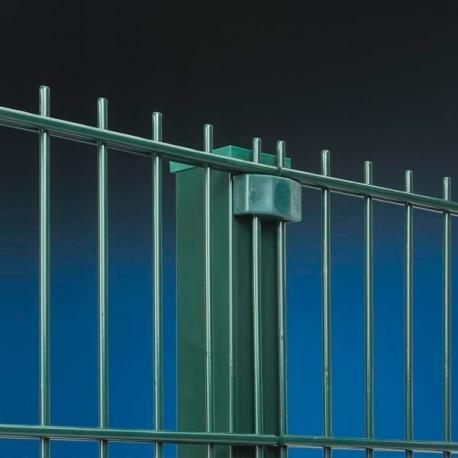 Plotový panel 2D 2430x2500 mm, průměr drátu 6/5/6 mm, poplastovaný