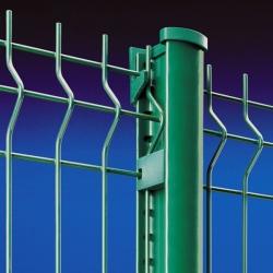 Plotový panel 3D 2360x2500 mm, poplastovaný, 4 profily, 5 mm